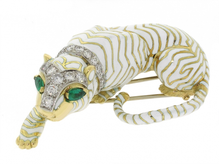 1383954369-504913-David_Webb_Tiger_Brooch_in_18K-0-1280x960 69 Dress Jewelry Pieces in the Shape of Your Favorite Animal