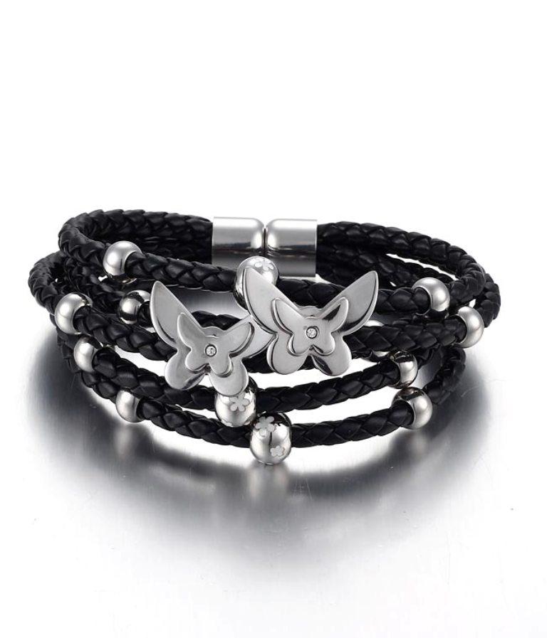 1631b_leather_bracelet_1__42445_zoom Top 25 Breathtaking & Stylish Leather Jewelry Pieces