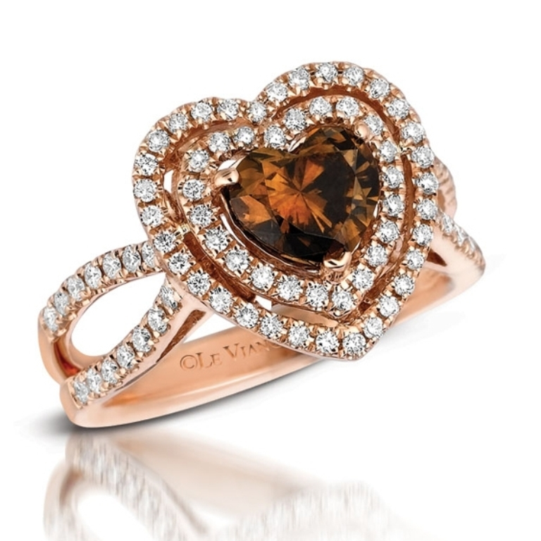193249 Chocolate Diamond Rings for a Fascinating & Unique Look