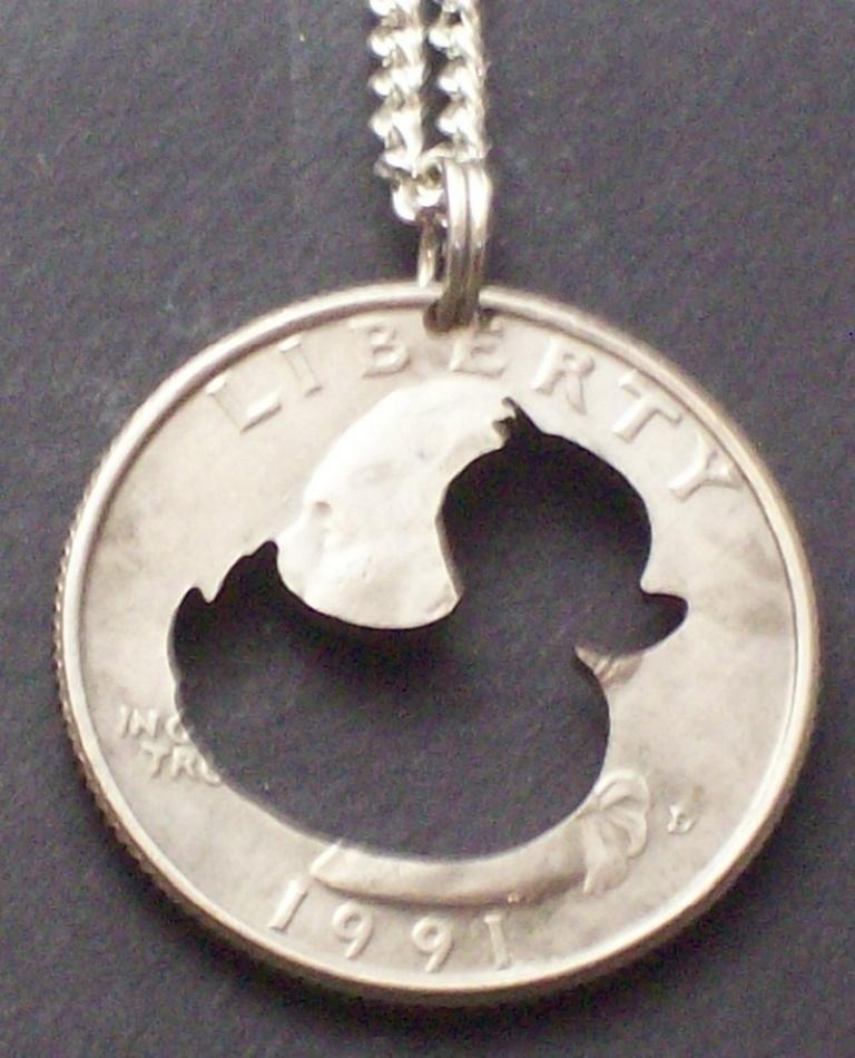1fad32486d5a91e6a227de46b693848a 25 Unique & Fashionable Coin Jewelry Pieces
