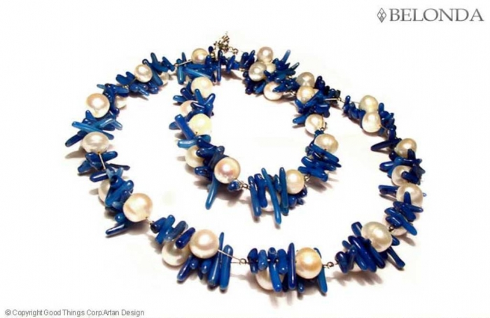 20602_blue_coral_necklace1 Coral Jewelry as a Magnificent Type of Jewelry from the Sea
