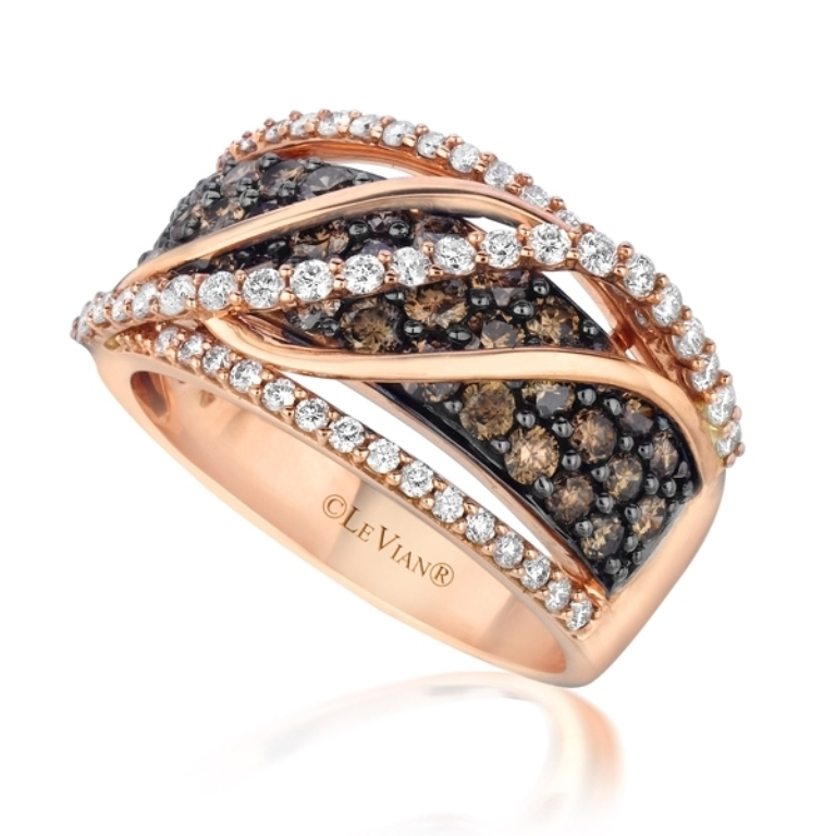 296900 Chocolate Diamond Rings for a Fascinating & Unique Look