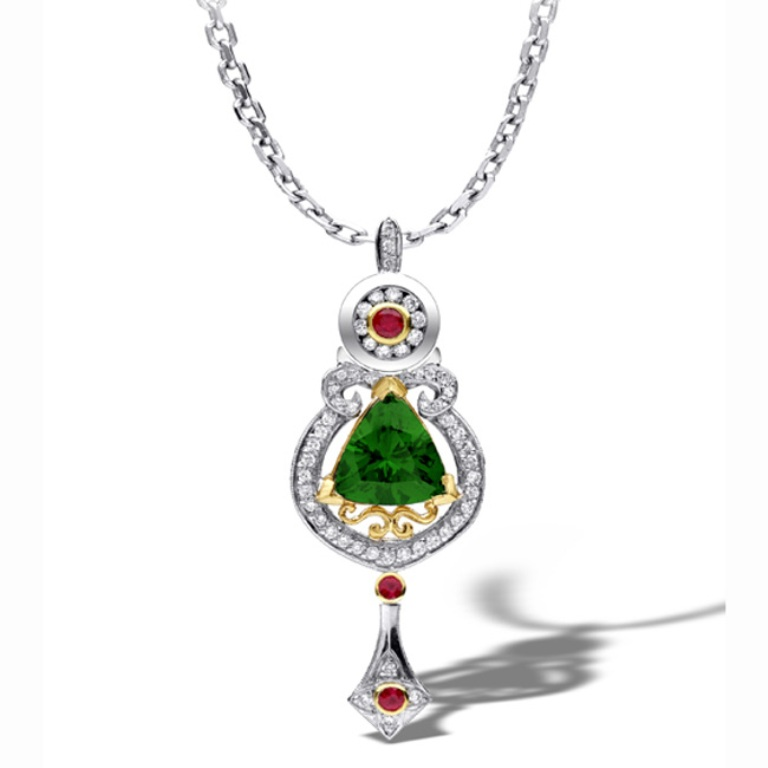4-tsavorite-jewels-pendants-pg1-RockNGold-Creations Tsavorite as a Strong Competitor to Emerald