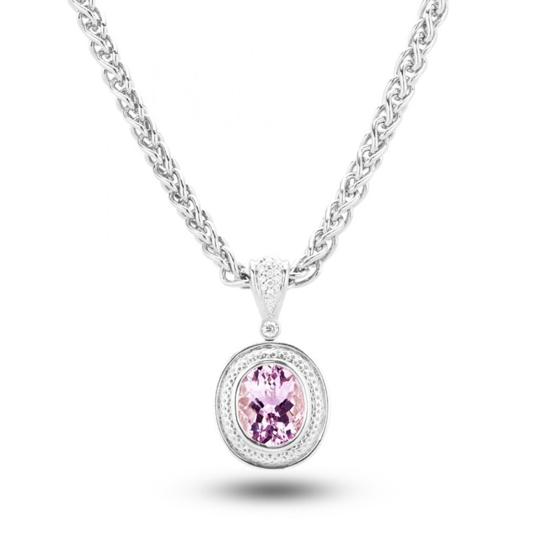 4100914 Pink Topaz Jewelry as a Romantic Gift