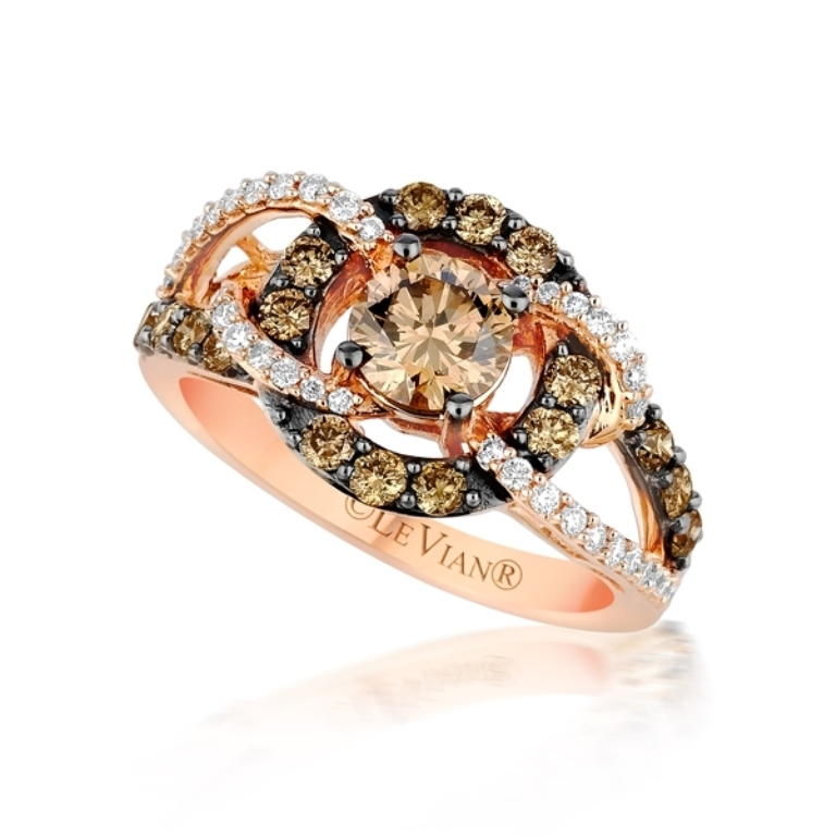 438490 Chocolate Diamond Rings for a Fascinating & Unique Look