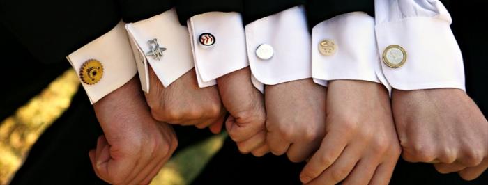 445545545 Cufflinks: The Most Favorite Men Jewelry