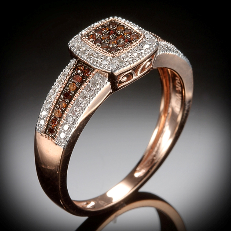 62555703 Chocolate Diamond Rings for a Fascinating & Unique Look