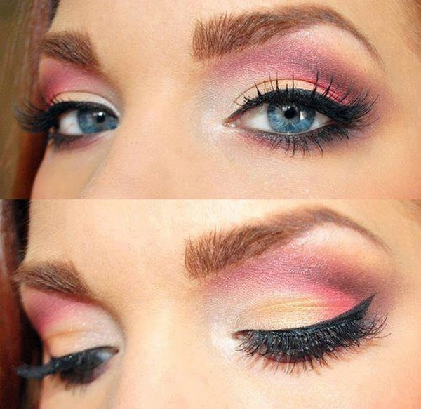Blue-Eyes-Makeup-for-Blue-Eyes- How to Wear Eye Makeup in six Simple Tips
