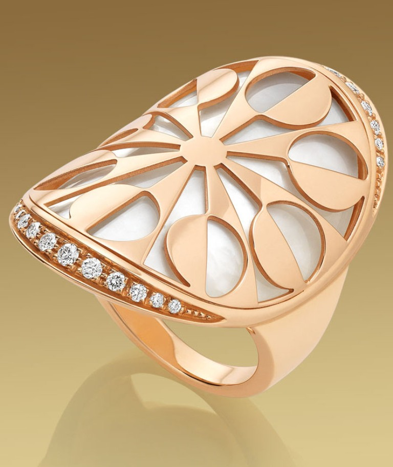 Bvlgari-MEDITERRANEAN-EDEN-ring-AN855768-2 Discover the Elegance & Magnificence of Italian Jewelry