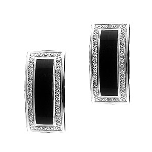 CL033-1-mens-jewelry-onyx-diamond-cuff-links Cufflinks: The Most Favorite Men Jewelry
