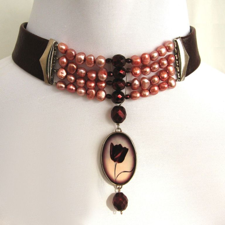 CP-18.1L Top 25 Breathtaking & Stylish Leather Jewelry Pieces