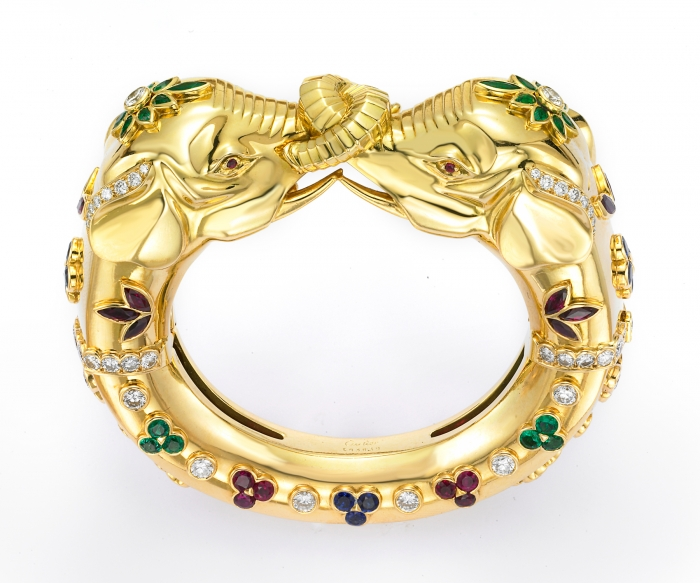 Cartier-Eleph.-Bangle-2 69 Dress Jewelry Pieces in the Shape of Your Favorite Animal