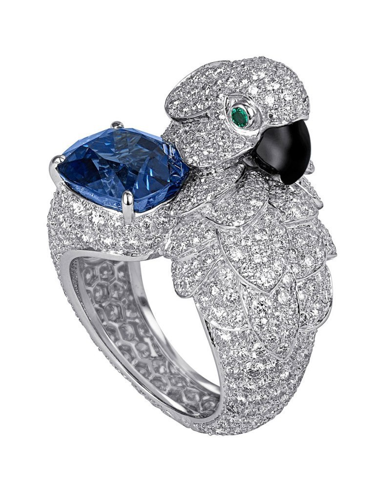 Cartier-Parrot-Ring Why Do Rings Turn My Finger Green?
