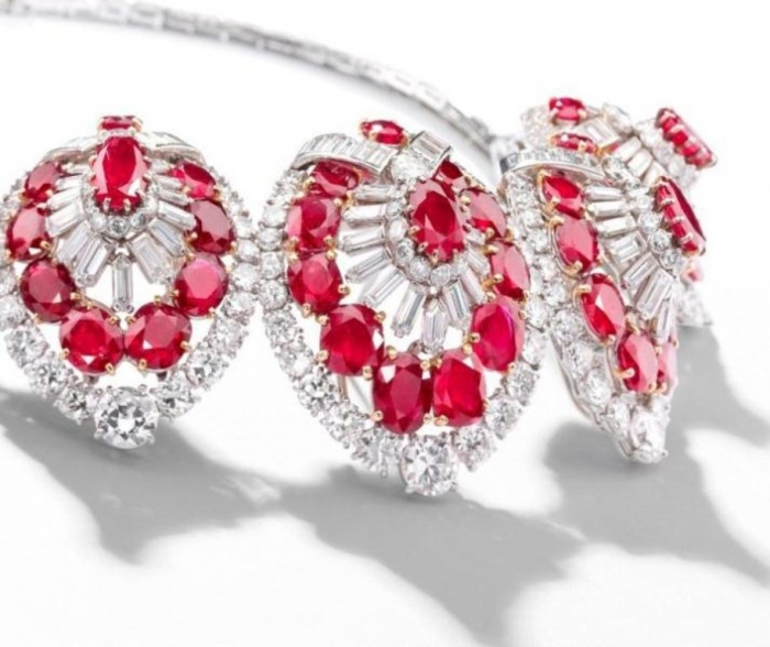Cartier-ruby-and-diamond-jewelry Let's Discover Jewelry Secrets about Gold & Diamonds