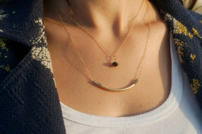 Cee-Celestial-Arc-Necklace Look Fashionable by Layering Your Jewelry