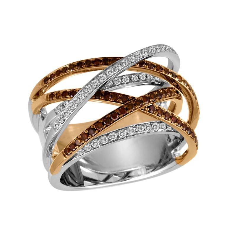Chocolate-Diamond-Ring Chocolate Diamond Rings for a Fascinating & Unique Look
