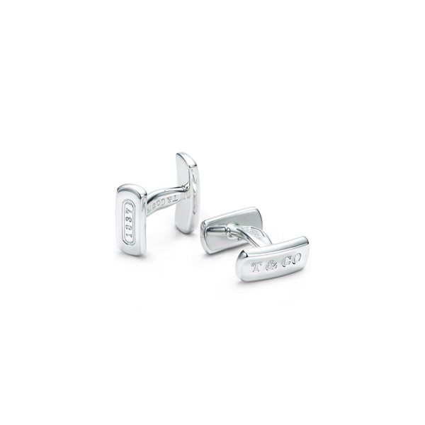 Classic-Tiffany-And-Co-1837-Cuff-Link-Jewelry Cufflinks: The Most Favorite Men Jewelry