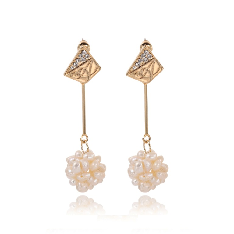 Cluster_Pearl_Straight_Dangle_Earrings__26413_zoom How to Take Care of Your Pearl Jewelry