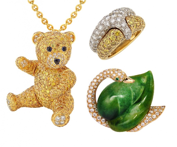 Cristofol-Paris-Teddy-Brooch-and-pendant 69 Dress Jewelry Pieces in the Shape of Your Favorite Animal
