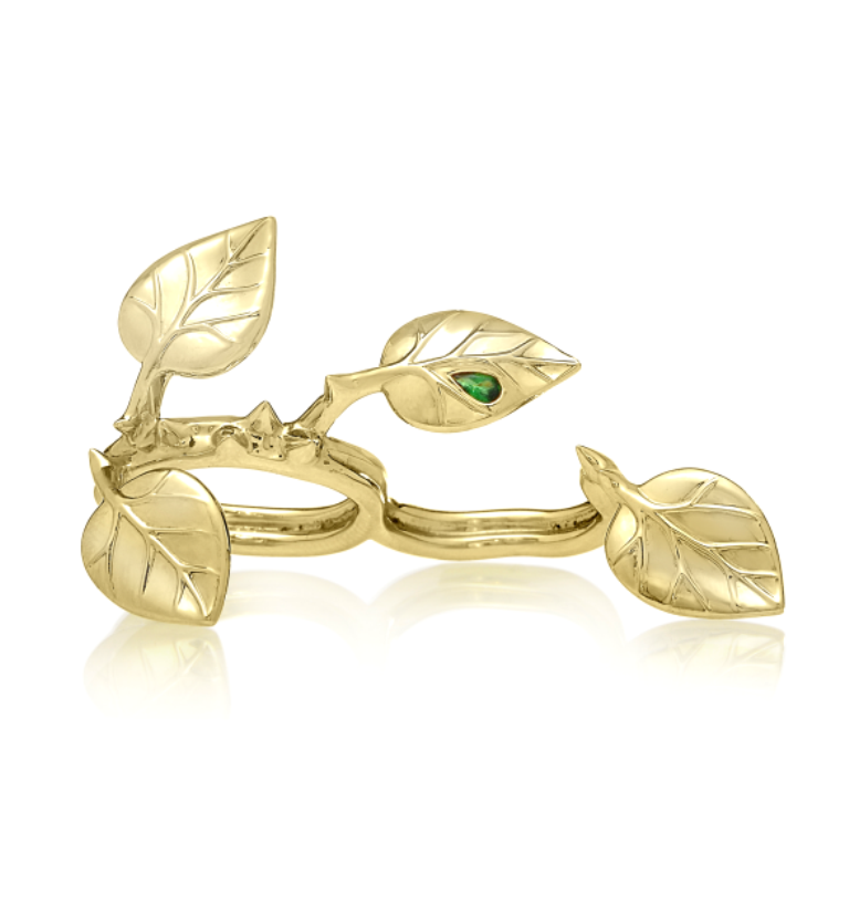 Crows-Nest-Jewelry_Who-Needs-A-Rose-Ring-Yellow-Gold_Designer-Jewelry White & Yellow Gold, Which One Is the Best?
