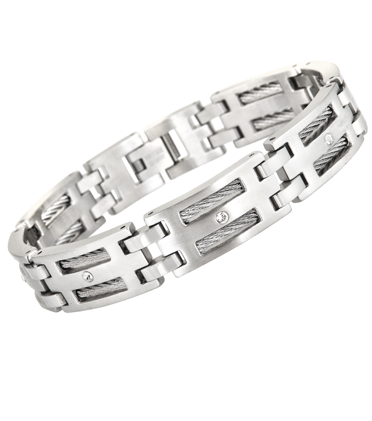 ELEGANT-STAINLESS-STEEL-MEN-BRACELET How to Clean Your Stainless Steel Jewelry