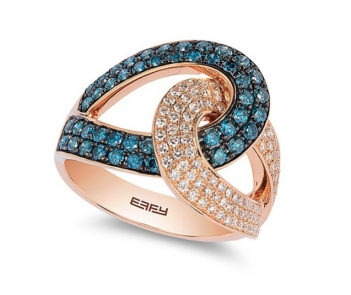 Effy-Jewelry-Color-Diamonds-Ring-WZ0S113D76 How to Take Care of Your Diamond Jewelry