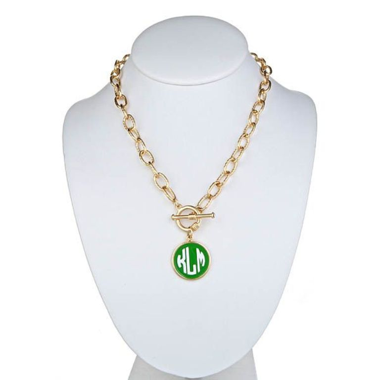 FornashMonogramNecklace Express Your Love by Presenting Monogram Jewelry