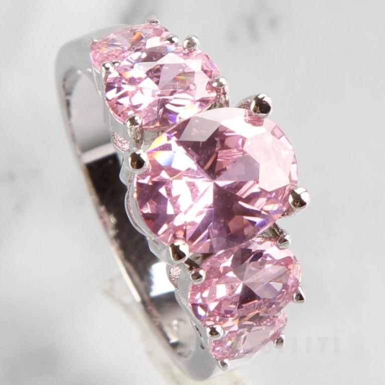 HOT-OVAL-CUT-font-b-PINK-b-font-font-b-TOPAZ-b-font-SILVER-font-b Pink Topaz Jewelry as a Romantic Gift