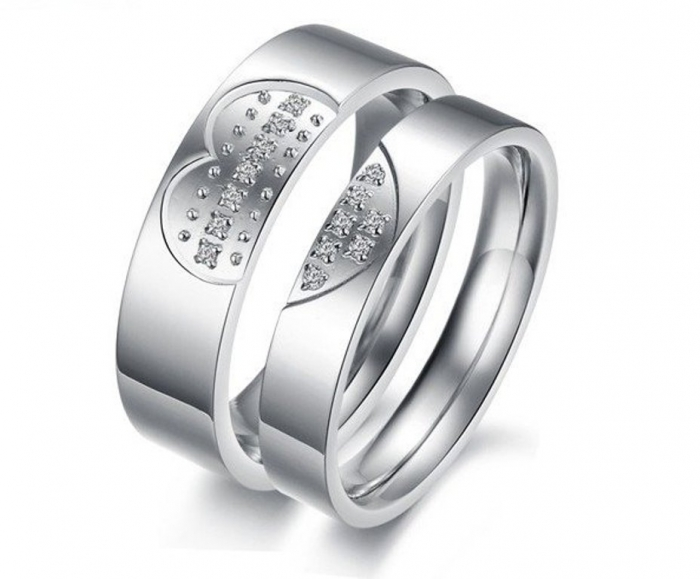 High-Quality-Titanium-Love-Heart-Lover-Rings-316L-Stainless-Steel-Classic-Wedding-Rings-Cheap-Rings-Dropship 30 Everlasting & Affordable Stainless Steel Jewelry