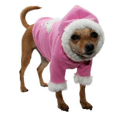 Hip-Doggie-Bunny-Dog-Hoodie-in-Snow Top 35 Winter Clothes for Dogs