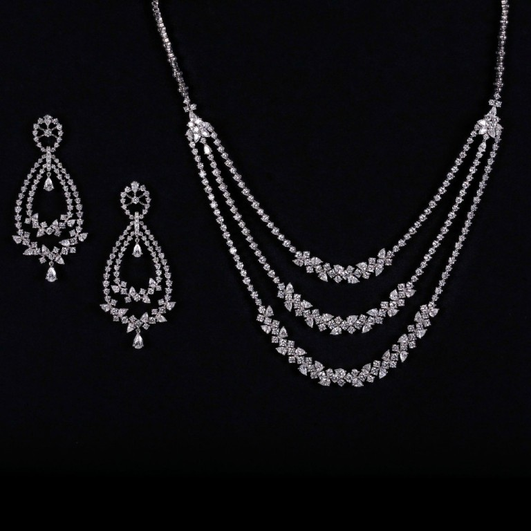 Indian-Bridal-Diamond-Jewelry-Sets-By-PC-Jeweller-8 How to Take Care of Your Diamond Jewelry