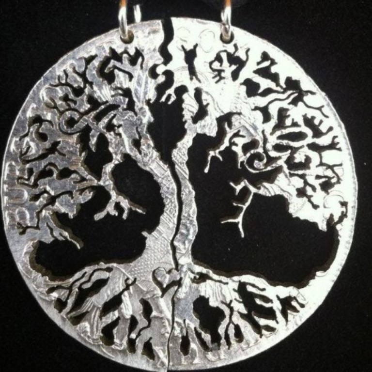 Jewelry-carved-from-old-coins-18-634x634 25 Unique & Fashionable Coin Jewelry Pieces