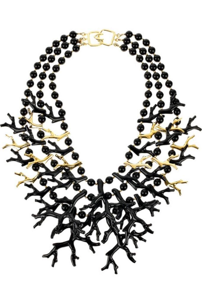 Kenneth-Jay-Lane-Coral-inspired-necklace1 Coral Jewelry as a Magnificent Type of Jewelry from the Sea