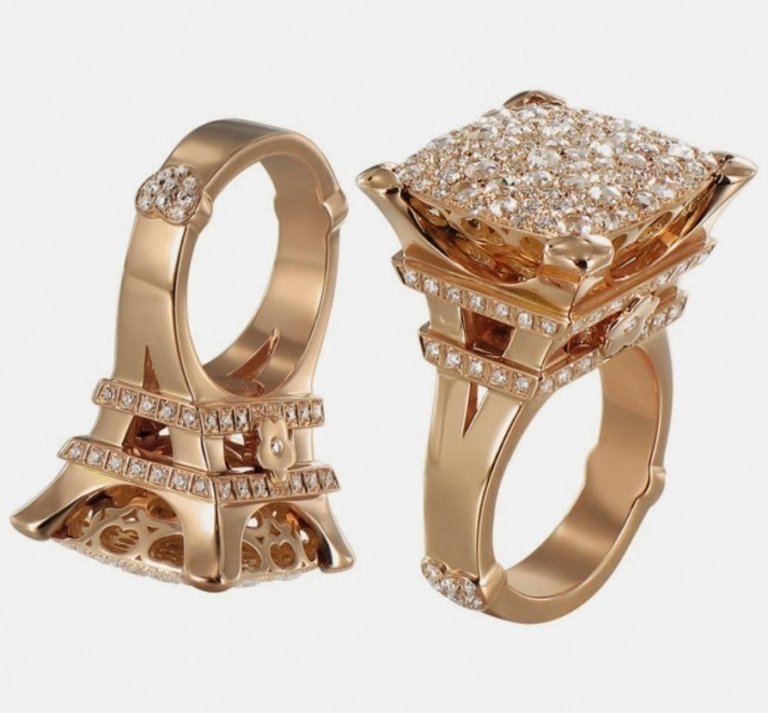 Madame-Eiffel-Jewelry-Collection-2013-2 Discover the Elegance & Magnificence of Italian Jewelry