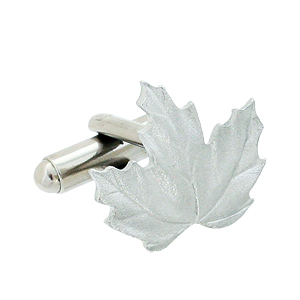 Maple-Leaf-Cuff-Link Cufflinks: The Most Favorite Men Jewelry