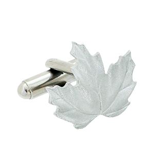 Maple-Leaf-Cuff-Link Cufflinks: The Most Favorite Men Jewelry