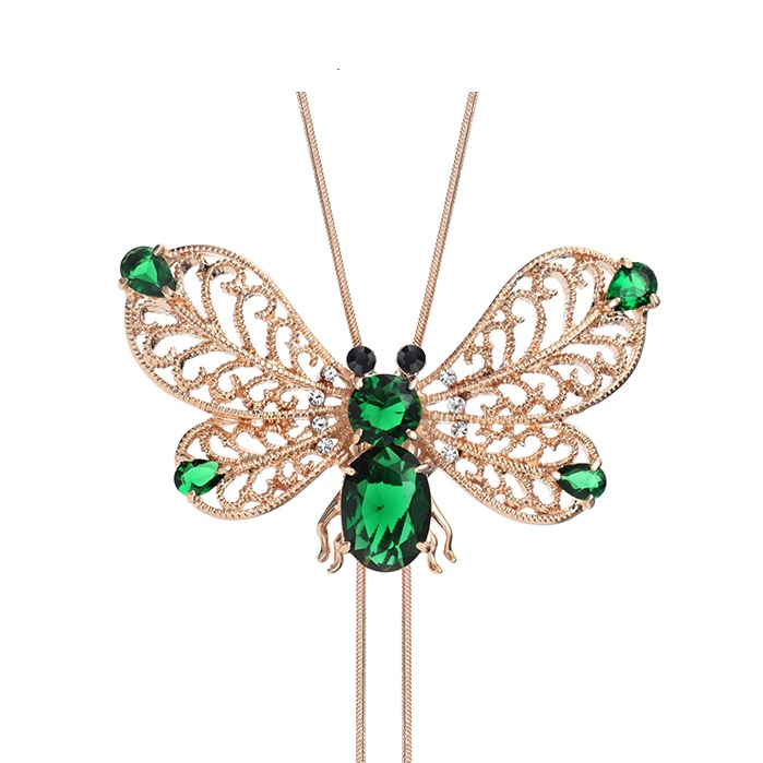 Neoglory-Zirconia-Rose-Gold-Plated-Chain-Long-Necklaces-Pendants-for-Women-Animal-Butterfly-Designer-Fashion-Jewelry-1 69 Dress Jewelry Pieces in the Shape of Your Favorite Animal