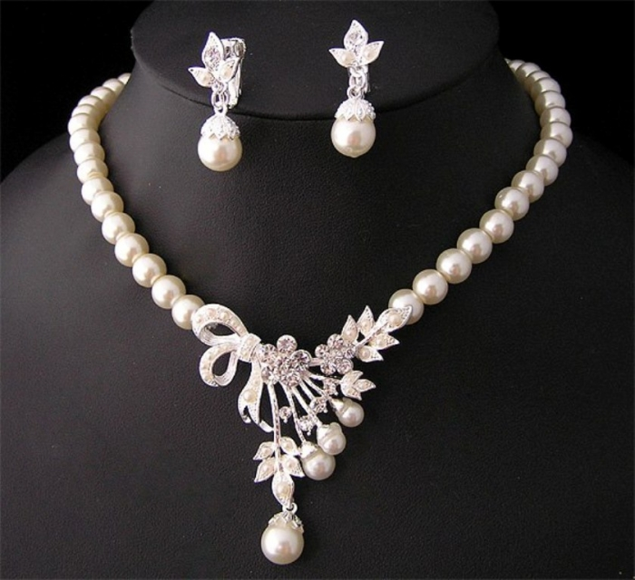 Pearl-Necklace-Jewelry-Designs-2014-for-Girls-Fashion-Fist-4 How to Take Care of Your Pearl Jewelry