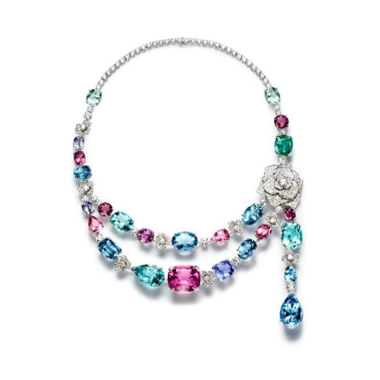Piaget-Rose-High-Jewellery-Pieces-Limelight-Garden-Party-Necklace-2012 How to Tell Real Jewelry from Fake