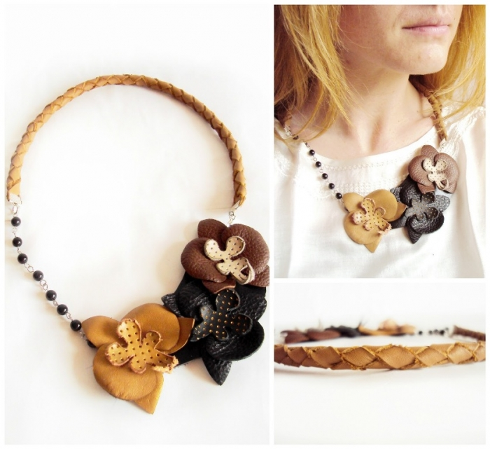PicMonkey-Collage Top 25 Breathtaking & Stylish Leather Jewelry Pieces