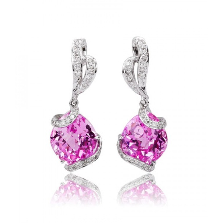 RBrent_Earrings_REF-N514_152-900x900 Pink Topaz Jewelry as a Romantic Gift
