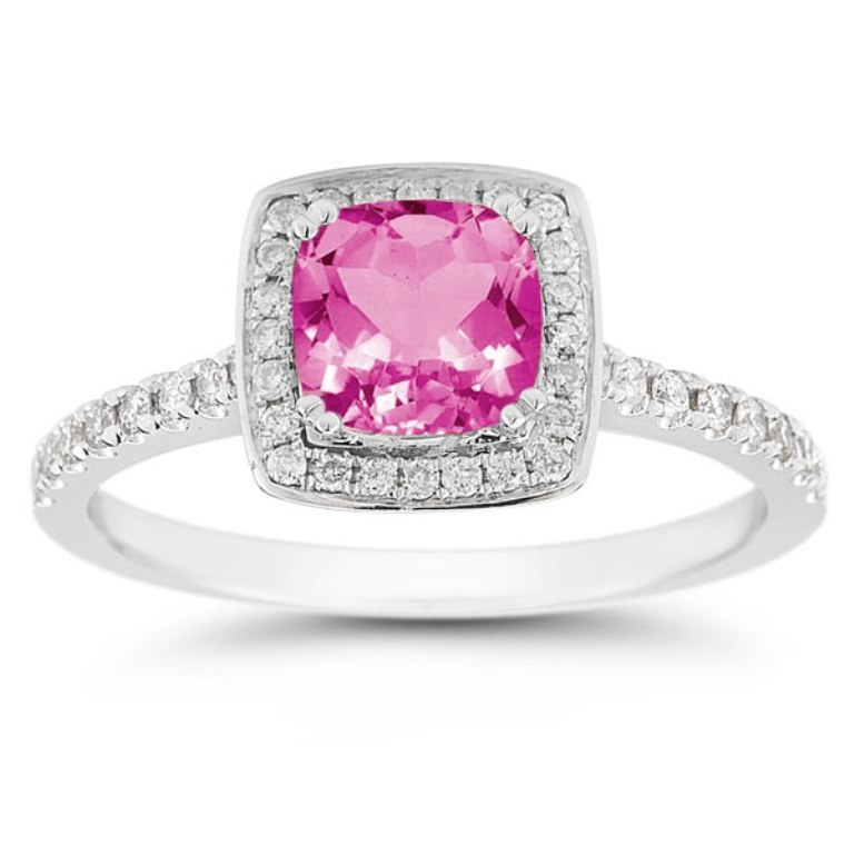 RXP-10R-1500PTZ Pink Topaz Jewelry as a Romantic Gift
