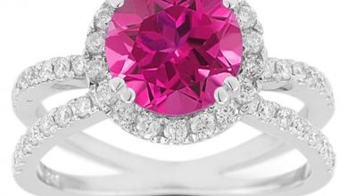 Photo of Pink Topaz Jewelry as a Romantic Gift