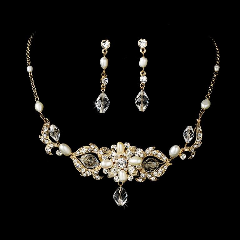 Swarovski-Freshwater-Pearl-Jewelry-Set-WF7804 How to Take Care of Your Pearl Jewelry