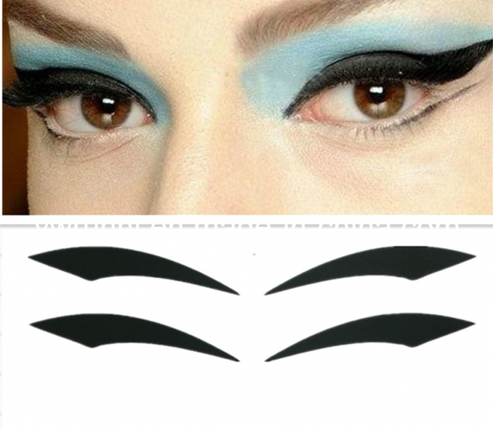 Tattooed-Eyeliner-–-A-Growing-Trend-0012 Best 12 Temporary Makeup Tattoo Designs