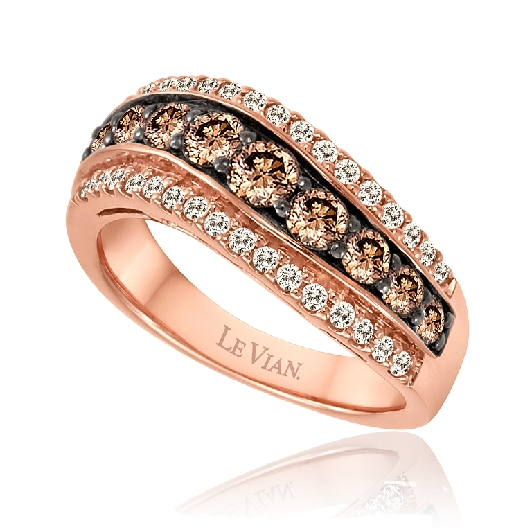 WIDY-63 Chocolate Diamond Rings for a Fascinating & Unique Look