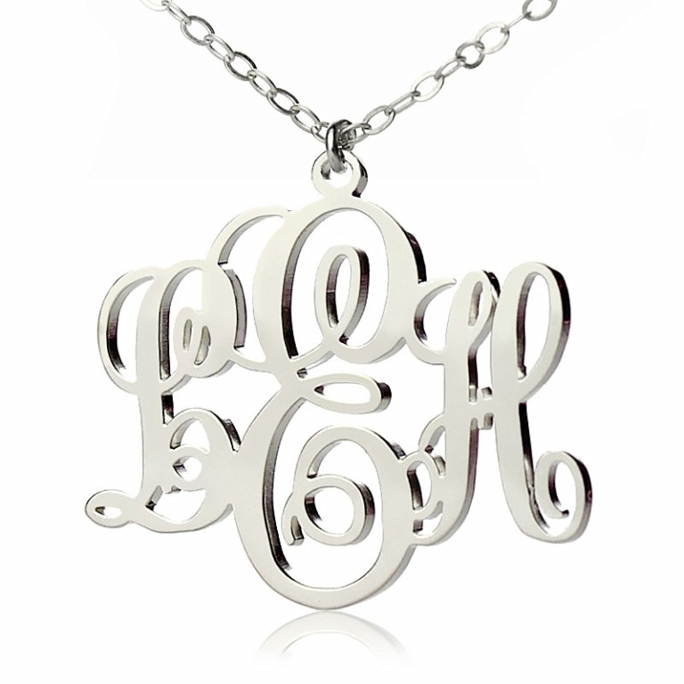 Wholesale-Monogram-Jewelry Express Your Love by Presenting Monogram Jewelry