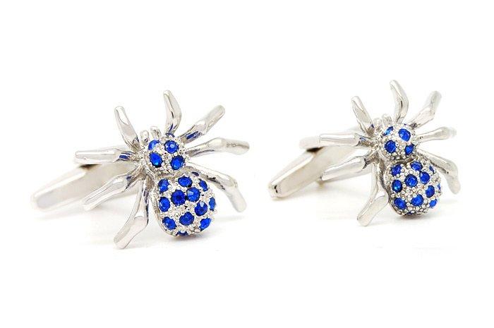 Wholesale-brand-new-Men-s-cufflink-brass-material-novelty-cuff-link-spiders-design-shirt-cufflinks-for Cufflinks: The Most Favorite Men Jewelry