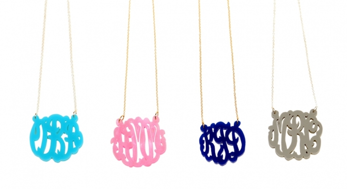 amnm-1 Express Your Love by Presenting Monogram Jewelry