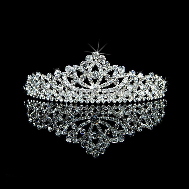 beautiful-rhinestone-crowns-wedding-bridal Be Like a Queen with Your Crown [79 Newest Trends...]